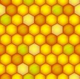 Honeycomb tonujący wzór royalty ilustracja