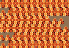Abstract Honeycomb Royalty Free Stock Photography