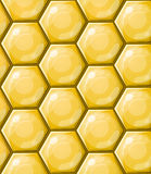 Honeycomb wallpaper pattern Royalty Free Stock Image