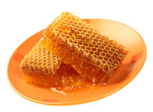 Honeycomb wax Royalty Free Stock Photography