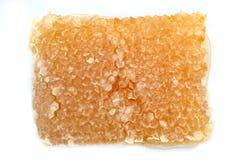 Honeycomb on white background Royalty Free Stock Photo