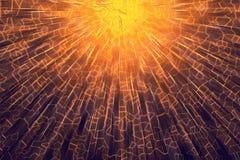 Honeycomb złoty tło Fotografia Royalty Free