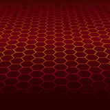 Honeycombs. Abstract textured background in vector Royalty Free Stock Photos