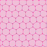 Honeycombs. Abstract vector background imitating honeycombs. Net from cells of organic form stock illustration