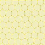 Honeycombs. Abstract vector background imitating honeycombs. Net from cells of organic form Stock Image