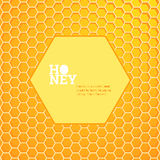 Honeycombs bright background Royalty Free Stock Photography