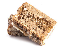 Honeycombs in closeup Royalty Free Stock Image