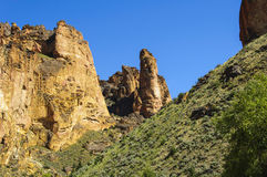 Leslie Gulch - Eastern Oregon Stock Images