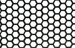 honeycombs metal Fotografia Royalty Free
