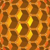 Honeycombs miód Obrazy Stock