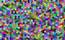Honeycombs pattern abstract background. Illustration vector illustration