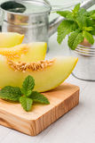 Honeydew melon Royalty Free Stock Images