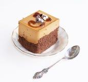 Honeyed biscuit. Fruitcake Stock Image