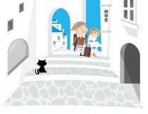 honeymoon royalty ilustracja