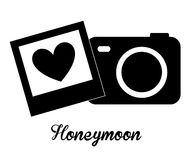 honeymoon ilustracja wektor