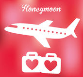 honeymoon illustration libre de droits