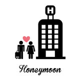 honeymoon illustration de vecteur