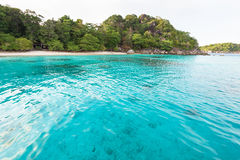 Honeymoon Bay and beach in Similan island, Thailand Royalty Free Stock Photography