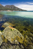 Honeymoon bay, Freycinet National Park, Tasmania, Australia Royalty Free Stock Photo