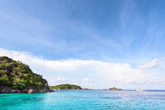Honeymoon Bay in Mu Koh Similan, Thailand Stock Image