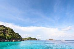 Honeymoon Bay in Mu Koh Similan, Thailand Stock Image