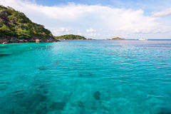 Honeymoon Bay in Mu Koh Similan, Thailand Royalty Free Stock Image