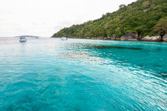 Honeymoon Bay in Mu Koh Similan, Thailand Stock Photography