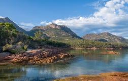 Honeymoon Bay, Tasmania Stock Photo