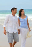 Honeymoon in beach resort Royalty Free Stock Photography