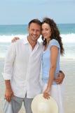 Honeymoon in beach resort Stock Photography