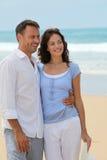 Honeymoon in beach resort Stock Photos