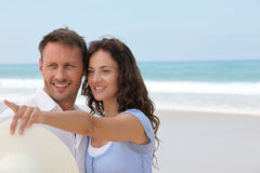 Honeymoon in beach resort Royalty Free Stock Photo