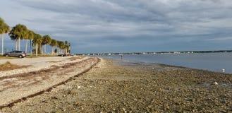 Honeymoon beach tampa Florida royalty free stock image