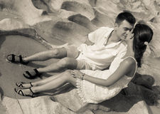 Honeymoon couple at Turkey Stock Image