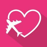 Honeymoon. Design, vector illustration eps10 graphic Royalty Free Stock Photo