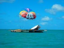 Honeymoon. Happy honeymoon at the sea Royalty Free Stock Image