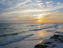 Honeymoon Island State Park, Florida. Beautiful sunset at Honeymoon Island State Park, Florida Royalty Free Stock Photo