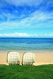 Honeymoon at Noumea Beach Royalty Free Stock Photography