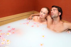 Honeymoon package Stock Images