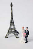 Honeymoon in Paris Royalty Free Stock Photography