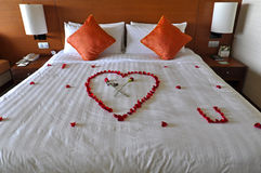 Honeymoon Suite. In a hotel Stock Images