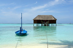 Honeymoon suite on maldives Stock Images
