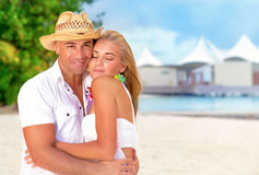 Honeymoon vacation Royalty Free Stock Photography