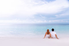 Honeymoon vacation Stock Photo
