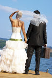 Honeymooners imagem de stock royalty free