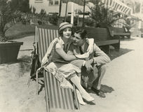 Honeymooners Stock Image