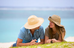 Honeymooners Royalty Free Stock Photography