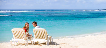 Honeymooners Royalty Free Stock Image