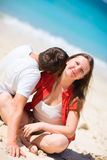 Honeymooners Stock Photo