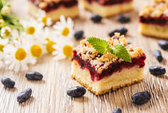 Honeysuckle Crumb Cake Immagine Stock Libera da Diritti
